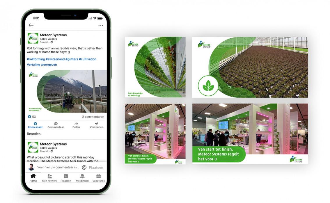 Social media template design door vdS creatie Reclamebureau Breda
