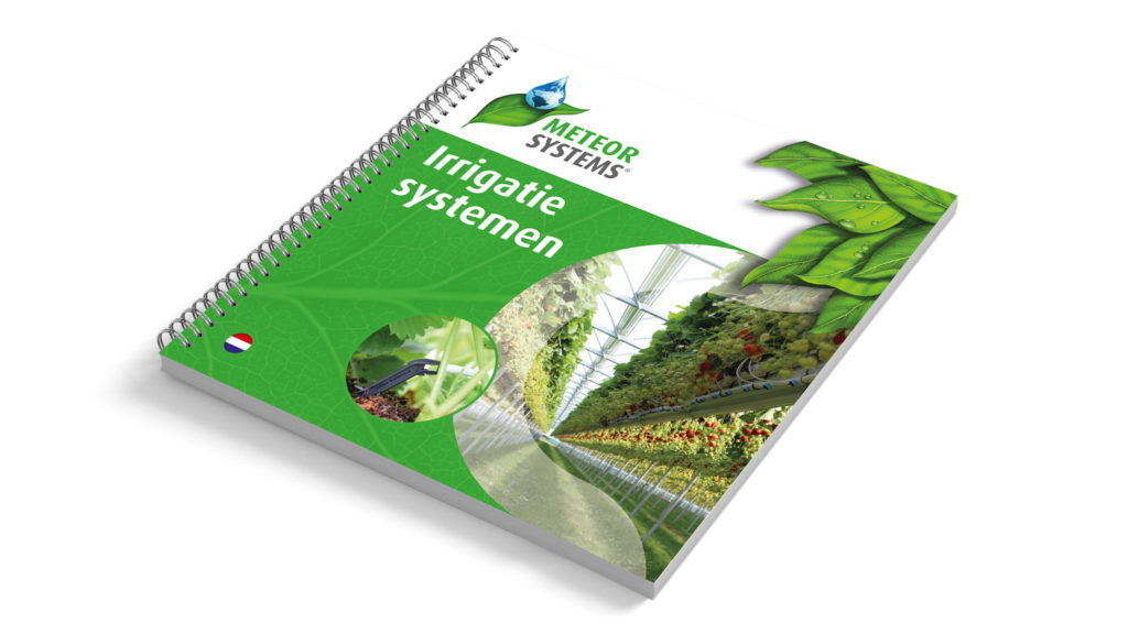 Meteor Systems brochure Irrigatiesystemen - Ontwerp door vdscreatie.nl