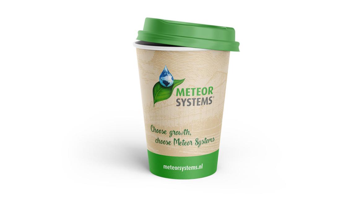 Koffiebeker ontwerp Breda - Meteor Systems - door vdS creatie