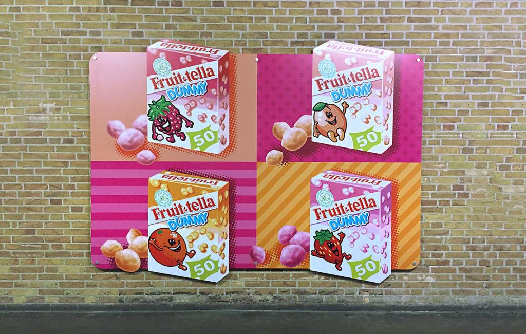 Opvallende visuals voor Perfetti Van Melle door vdS creatie in Breda.