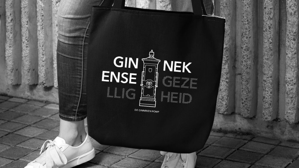 De Ginneken Pomp tas - boodschappentas - shopping bag