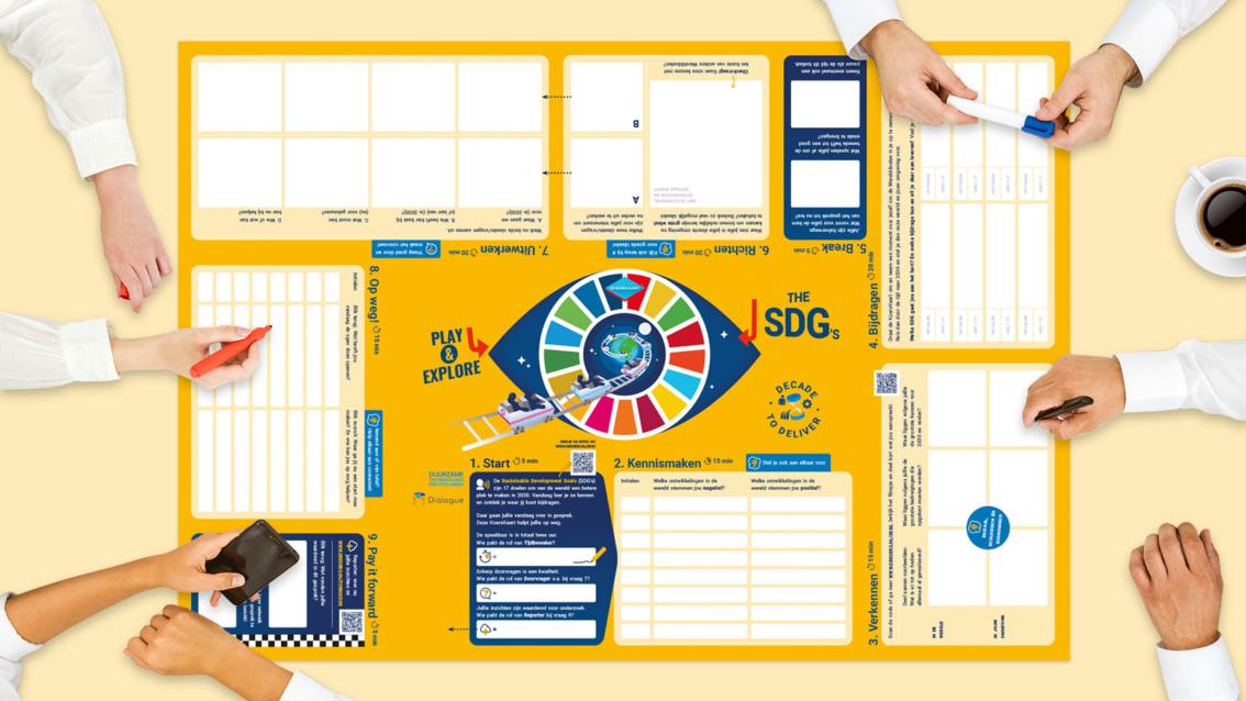 RoadMapp SDG Nederland - De Koers - door reclamebureau vdS creatie Breda