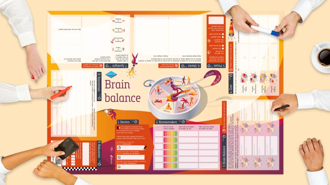Koerskaart ontwerp SD Worx - De Koers - door reclamebureau vdS creatie Breda