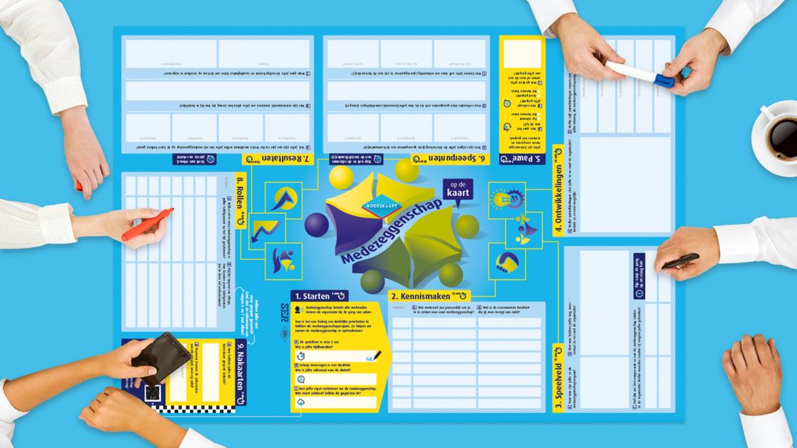 Koerskaart ontwerp SER- De Koers - door reclamebureau vdS creatie Breda