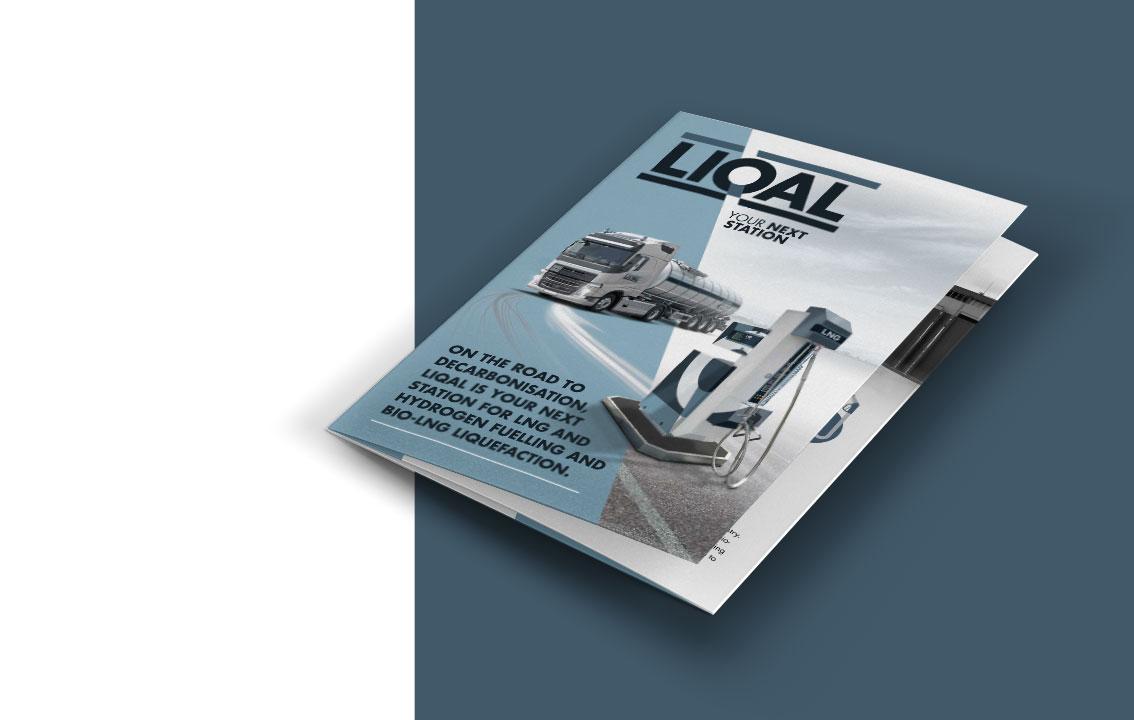 LIQAL - Folder en brochure ontwerp door vdS creatie Reclamebureau Breda