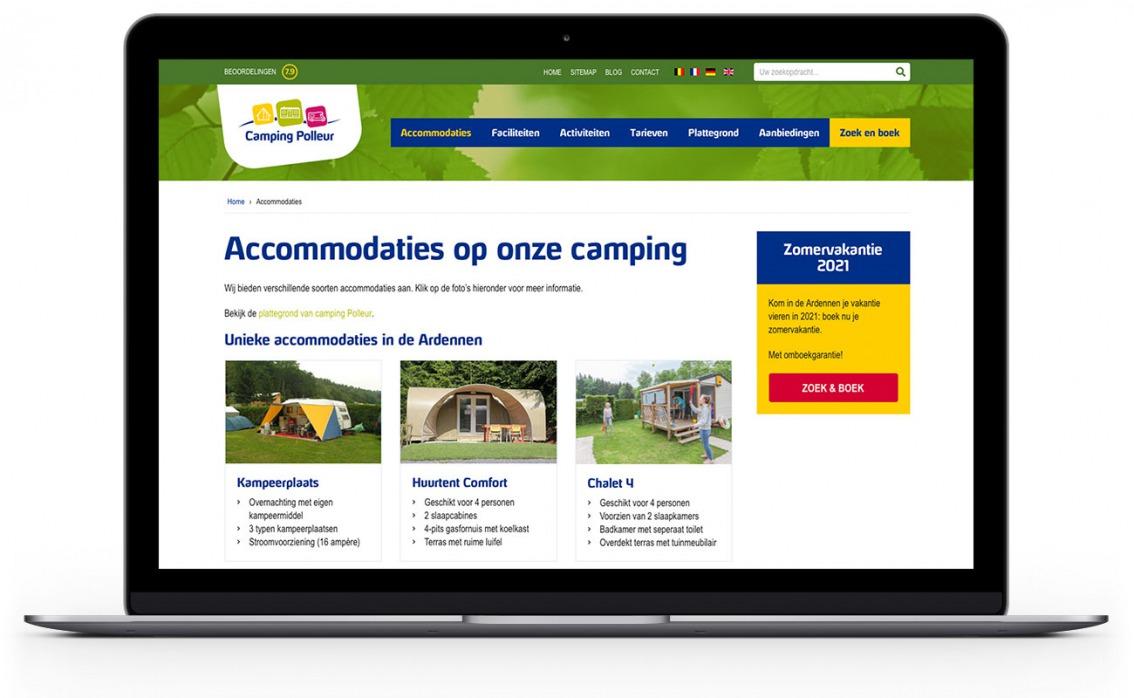 Webdesign vdS creatie - Breda - Polleur.be